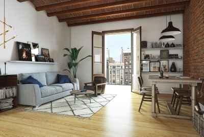 Современная квартира с двумя террасами в центре